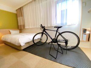 そんなサイクリストの皆様へ、応援するお部屋をご用意いたしました。